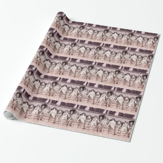 1920s Bathing Beauties Gift Wrapping Paper