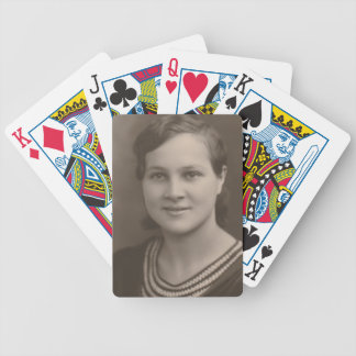 1920s bicycle playing cards