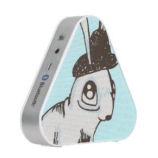 1920s Bunny Polka Dot Bluetooth Speaker