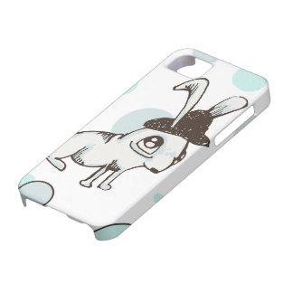 1920s Bunny Polka Dot iPhone SE/5/5s Case