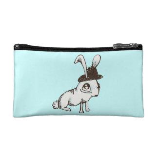 1920s Bunny Two-Tone Makeup Bag