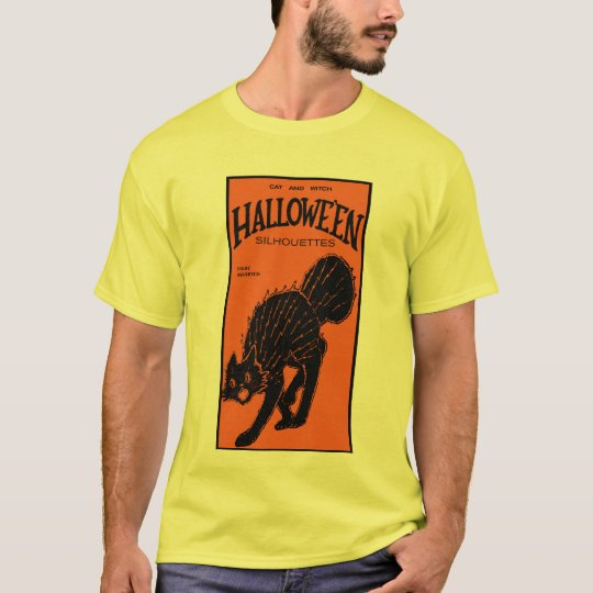 1920s Cat and Witch Die Cuts T-Shirt