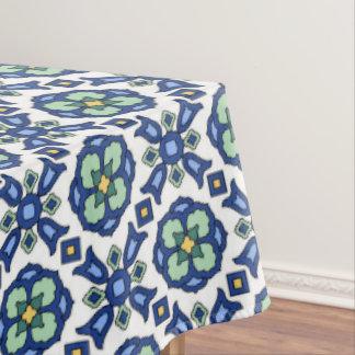 1920s Catalina Island Tile Design Tablecloth