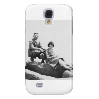1920's Couple on Vacation Galaxy S4 Cases