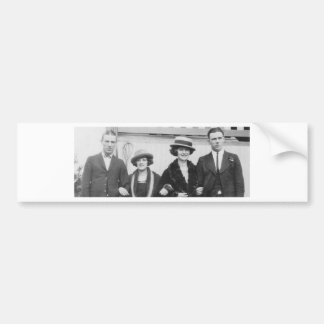 1920's Couples Night Out Bumper Stickers