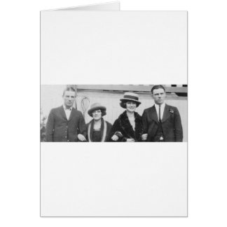 1920's Couples Night Out Card