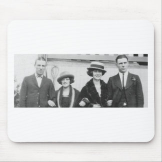 1920's Couples Night Out Mouse Pad