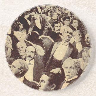 1920s Crowd Scene Coaster