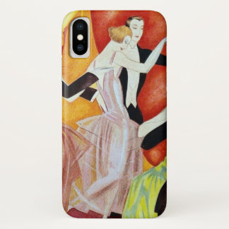 1920's Dancing Couples iPhone X Case