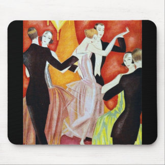 1920's Dancing Couples Mouse Pad