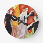1920's Dancing Couples Round Wallclock
