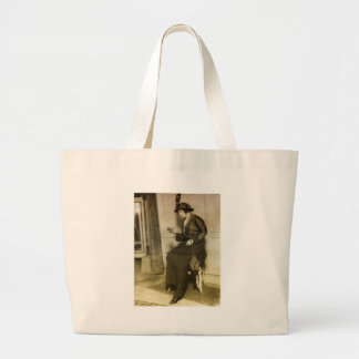 1920s Fashion Jumbo Tote Bag