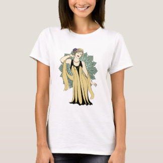 1920s Fashion Plate - Daisy T-Shirt
