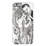 1920s Flapper Beauty iPhone 6 case