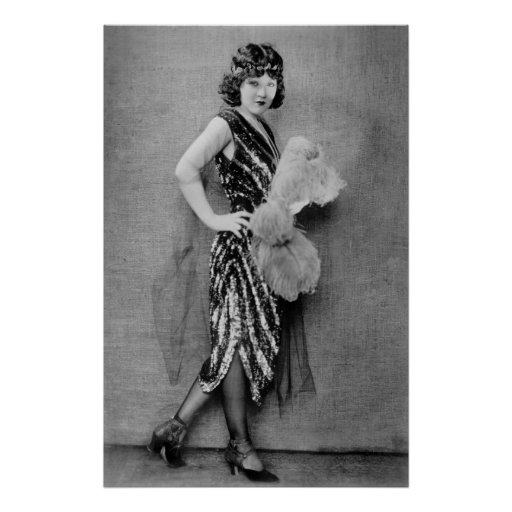 1920s Flapper Fashion Posters