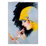 1920's Flapper - Greeting Card