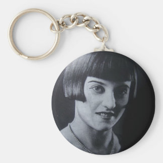 1920's flapper keychain