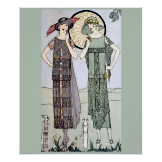 1920s Flappers Poster