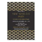 1920s gatsby new years eve invite party gold