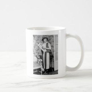 1920s Golf Fashion Classic White Coffee Mug