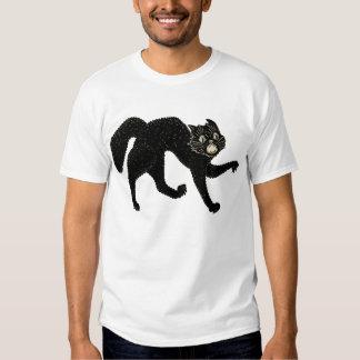 1920s Halloween Black Cat Shirt
