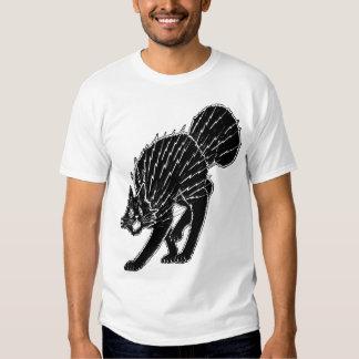 1920s Halloween Cat T-Shirt