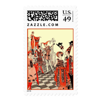 1920's Halloween Costume Party Postage