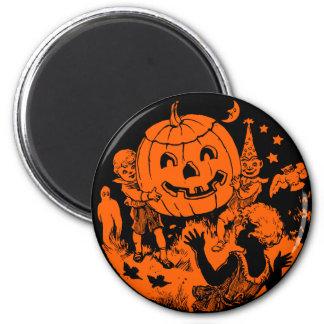 1920s Halloween Design - Magnet