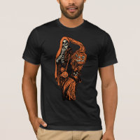 1920s Halloween Shrouded Skeleton T-Shirt