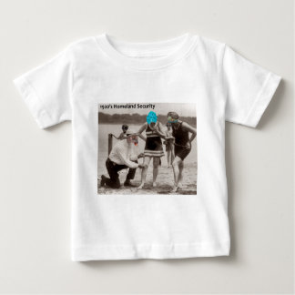 1920's Homeland Security Baby T-Shirt