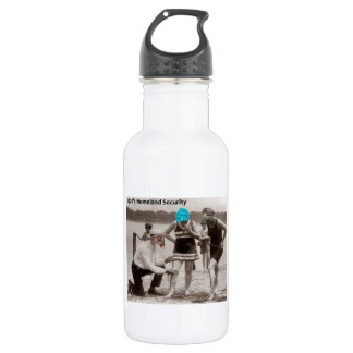 1920's Homeland Security Stainless Steel Water Bottle