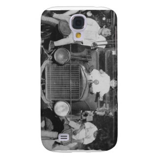 1920's Kids on Car Galaxy S4 Cases