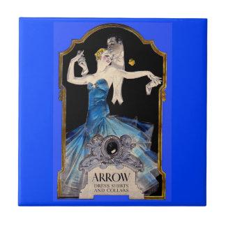 1920s Leyendecker Arrow shirt ad no. 1 Ceramic Tile