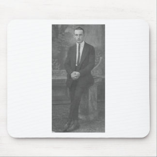 1920's Man Standing Mouse Pad