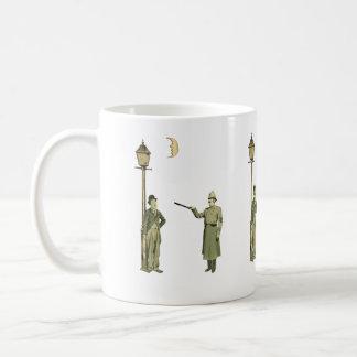 1920's Movie Star and Police Man Coffee Mug