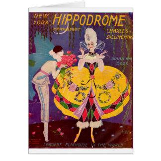 1920s New York Hippodrome program cover