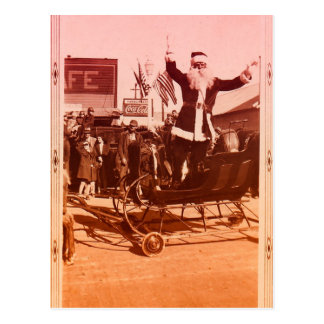 1920s Parade Santa Postcard
