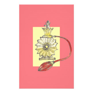 1920s Perfume Bottle Stationery Paper
