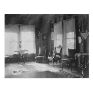 1920's Room Picture Postcard