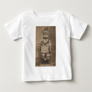 1920s RPPC one little Indian Baby T-Shirt