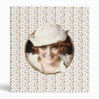 1920s Sailor Girl 3 Ring Binder