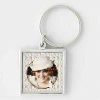 1920s Sailor Girl Keychain