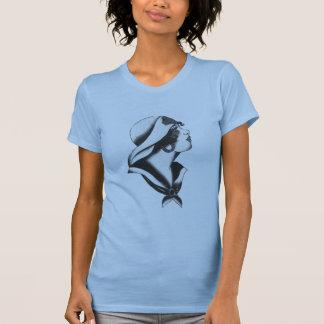 1920s Sailor Girl T-shirts
