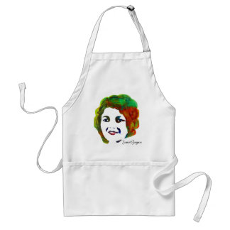 1920s Silent Movie Star Janet Gaynor Adult Apron
