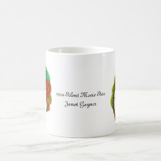 1920s Silent Movie Star Janet Gaynor Coffee Mugs
