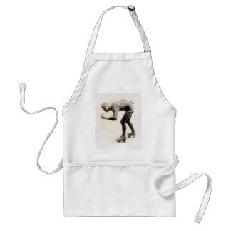 1920s Speed Skater no.2 Adult Apron
