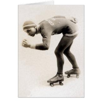 1920s Speed Skater no.2 Card