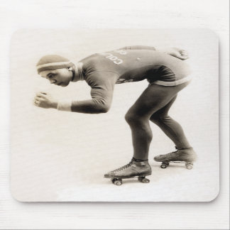 1920s Speed Skater no.2 Mousepads