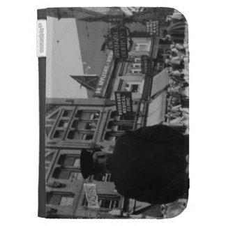 1920s Street Scene Kindle Case