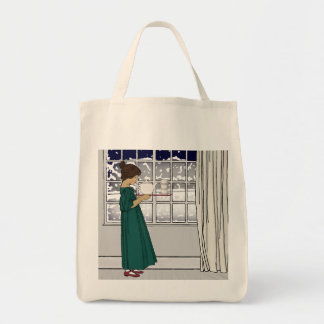 1920s Tea Girl (Grocery) Totebag Tote Bag